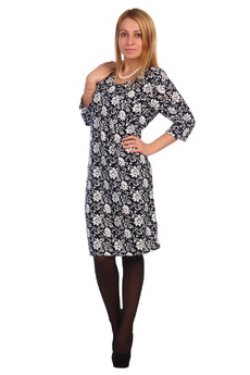 Повседневное платье с цветочным принтом ElenaTex